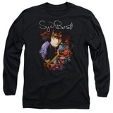 Syd Barrett Pink Floyd Madcap Syd Long Sleeve Adult 18/1 T-Shirt Black