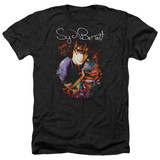 Syd Barrett Pink Floyd Madcap Syd Adult Heather T-Shirt Black