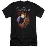 Syd Barrett Pink Floyd Madcap Syd S/S Adult 30/1 T-Shirt Black