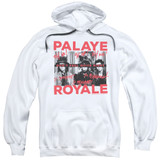 Palaye Royale Oh No Adult Pullover Hoodie Sweatshirt White