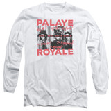 Palaye Royale Oh No Long Sleeve Adult T-Shirt White