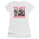 Palaye Royale Oh No Premium Junior Women's Sheer T-Shirt White