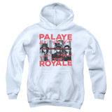 Palaye Royale Oh No Youth Pullover Hoodie Sweatshirt White