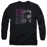 Palaye Royale Torn Long Sleeve Adult T-Shirt Black