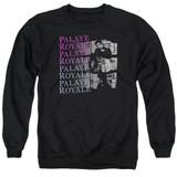 Palaye Royale Torn Adult Crewneck Sweatshirt Black