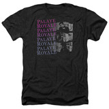 Palaye Royale Torn Adult Heather T-Shirt Black