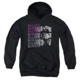 Palaye Royale Torn Youth Pullover Hoodie Sweatshirt Black