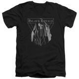Palaye Royale Veil Adult V-Neck T-Shirt Black