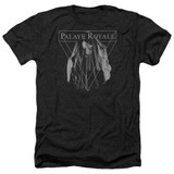 Palaye Royale Veil Adult Heather T-Shirt Black