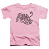 Pink Floyd Pink Logo Toddler T-Shirt Pink