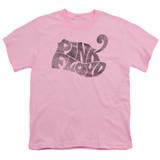 Pink Floyd Pink Logo Youth T-Shirt Pink