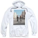 Pink Floyd Wish You Were Here Adult Pullover Hoodie Sweatshirt White