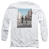 Pink Floyd Wish You Were Here Adult Long Sleeve T-Shirt White