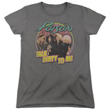 Poison Dirty Talk Women's T-Shirt Charcoal