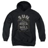 Sun Records Where Rock Began Youth Pullover Hoodie Sweatshirt Black