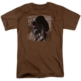 Stevie Ray Vaughan In Step S/S Adult 18/1 T-Shirt Coffee