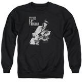 Stevie Ray Vaughan Live Alive Adult Crewneck Sweatshirt Black