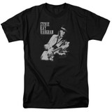 Stevie Ray Vaughan Live Alive S/S Adult 18/1 T-Shirt Black