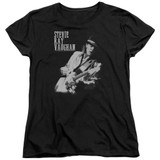 Stevie Ray Vaughan Live Alive S/S Women's T-Shirt Black