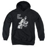 Stevie Ray Vaughan Live Alive Youth Pullover Hoodie Sweatshirt Black