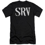 Stevie Ray Vaughan Srv S/S Adult 30/1 T-Shirt Black