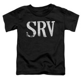 Stevie Ray Vaughan Srv S/S Toddler T-Shirt Black
