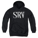 Stevie Ray Vaughan Srv Youth Pullover Hoodie Sweatshirt Black