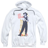 Stevie Ray Vaughan Standing Tall Adult Pullover Hoodie Sweatshirt White