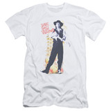 Stevie Ray Vaughan Standing Tall S/S Adult 30/1 T-Shirt White