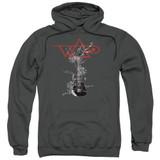 Steve Vai Axe Adult Pullover Hoodie Sweatshirt Charcoal
