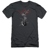 Steve Vai Axe S/S Adult 30/1 T-Shirt Charcoal