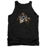 Steve Vai Guitar Adult Tank Top Black
