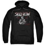 Skid Row Unite World Rebellion Adult Pullover Hoodie Sweatshirt Black