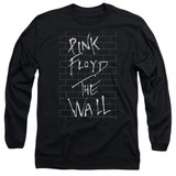 Roger Waters Pink Floyd The Wall 2 Adult Long Sleeve T-Shirt Black