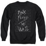 Roger Waters Pink Floyd The Wall 2 Adult Crewneck Sweatshirt Black