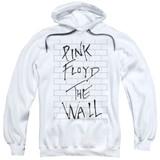 Roger Waters Pink Floyd The Wall 2 Adult Pullover Hoodie Sweatshirt White