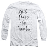 Roger Waters Pink Floyd The Wall 2 Adult Long Sleeve T-Shirt White