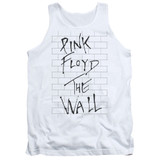 Roger Waters Pink Floyd The Wall 2 Adult Tank Top T-Shirt White