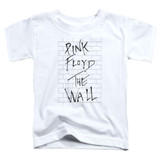 Roger Waters Pink Floyd The Wall 2 Toddler T-Shirt White