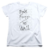 Roger Waters Pink Floyd The Wall 2 Women's T-Shirt White