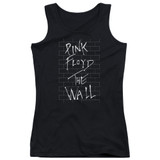 Roger Waters Pink Floyd The Wall 2 Junior Women's Tank Top T-Shirt Black