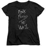 Roger Waters Pink Floyd The Wall 2 Women's T-Shirt Black
