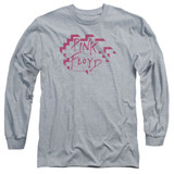 Roger Waters Pink Floyd Wall Logo Adult Long Sleeve T-Shirt Athletic Heather