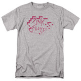 Roger Waters Pink Floyd Wall Logo Adult 18/1 T-Shirt Athletic Heather