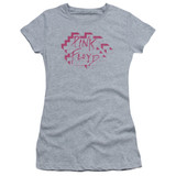 Roger Waters Pink Floyd Wall Logo Junior Women's Sheer T-Shirt Athletic Heather