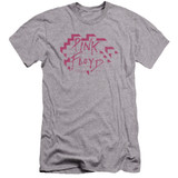 Roger Waters Pink Floyd Wall Logo Premium Adult 30/1 T-Shirt Athletic Heather