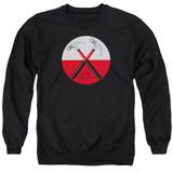 Roger Waters Pink Floyd Hammers Adult Crewneck Sweatshirt Black