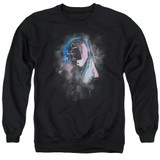 Roger Waters Pink Floyd Face Paint Adult Crewneck Sweatshirt Black