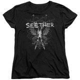 Seether Suffer S/S Women's T-Shirt Black