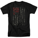 Seether Bone Flag S/S Adult 18/1 T-Shirt Black
